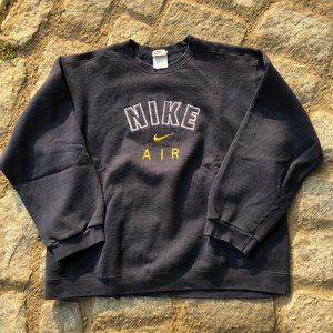 Vintage 90s Nike Air Crewneck Sweatshirt Spell out